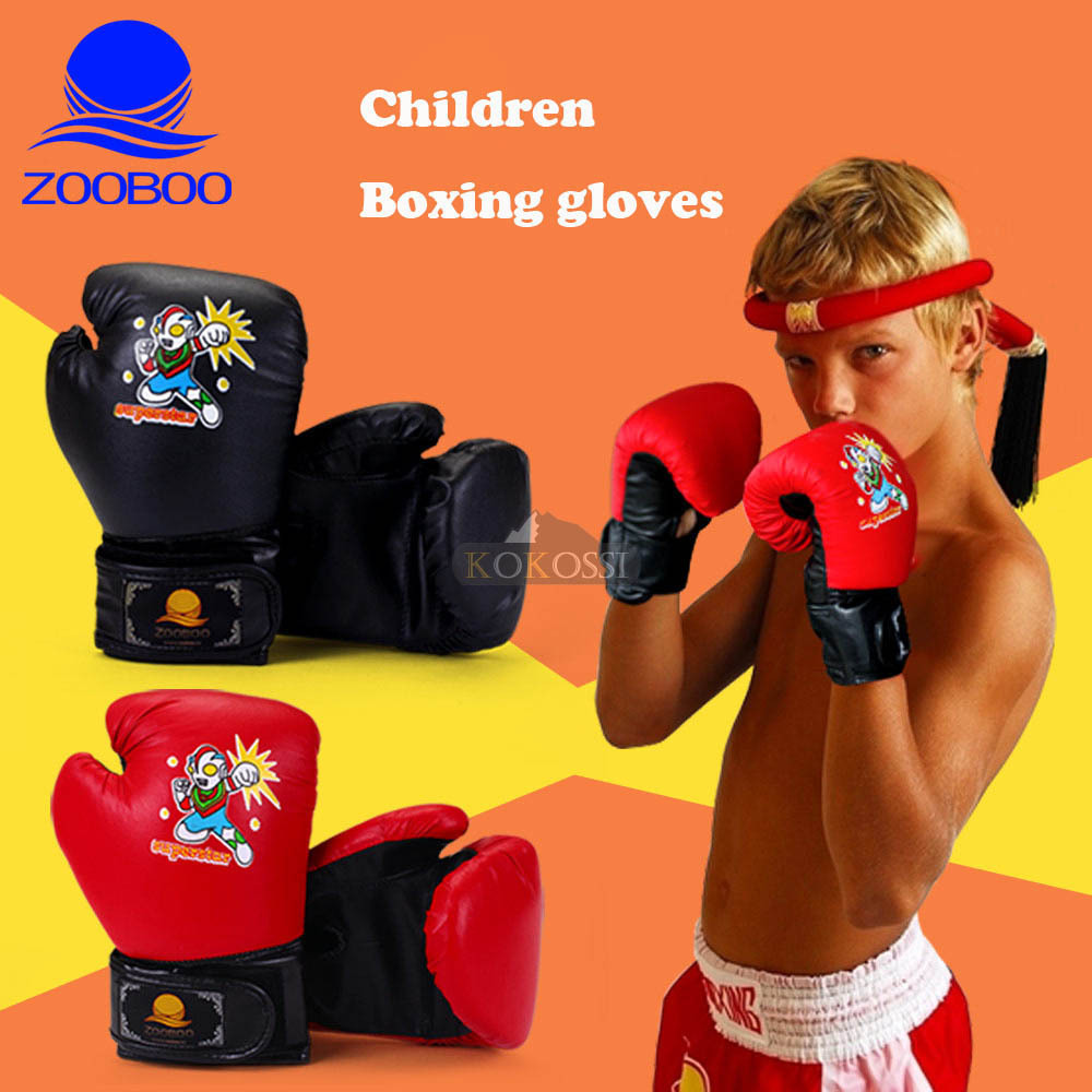 New Age 3-17 Kids Children Sparring MMA Boxing Gloves Boxing Training 2 Color Availabale