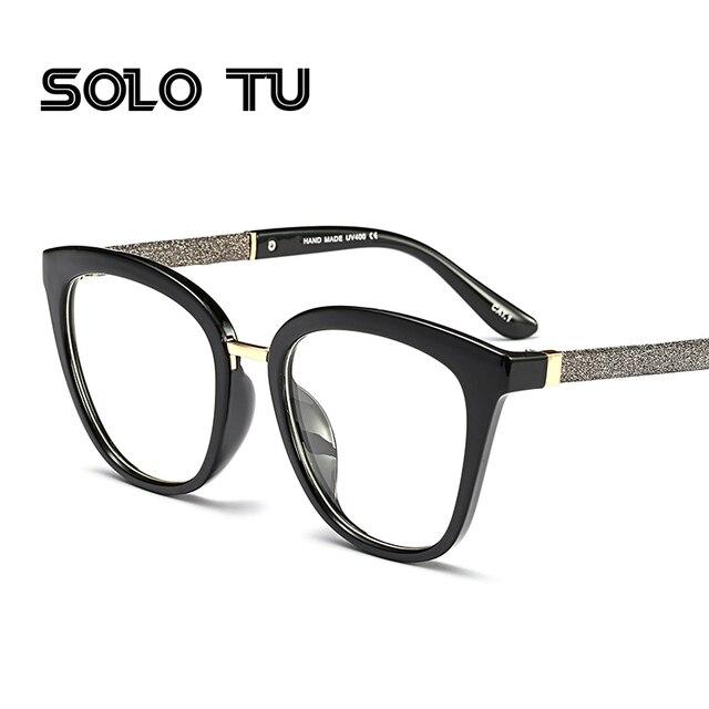 salvare c338f 8bb14 US $7.91 33% di SCONTO Moda Nuovo Stile Cornice Montatura per occhiali  Ottica Sereno Occhiali Da Lettura Moda Occhiali per Uomo Donna óculos  feminino ...