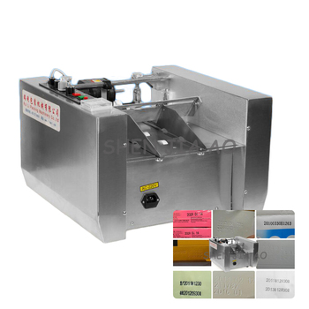 Stainless Steel Date Automatic Stamp Marking Machine Font Stamping Machine Carton Coding Machine MY-300  1PC