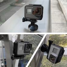 حامل حامل معدني مغناطيسي لحامل الهاتف المحمول GoPro Hero 8 7 6 5 4 3 شاومي Yi 4k SJCAM sj4000 EKEN H9 ملحقات كاميرا الحركة