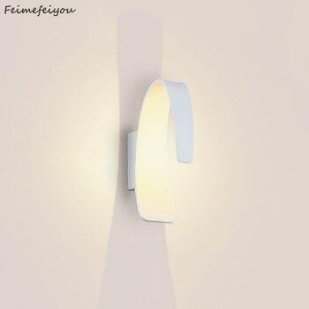 Feimefeiyou luminaria lampada دي led 3 W الألومنيوم جدار داخلي الإضاءة موردن مصباح ل ممر bedingroom