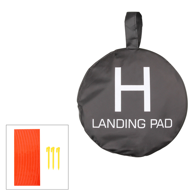 D80cm Drone Landing Parking Pad Glow in Dark for DJI Phantom 2 3 4 Mavic Pro Air Inspire 1 Quadcopter RC Racing Gadget