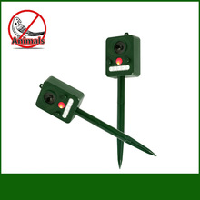 Multi-function bird repeller - solar function, infrared light flashing animal drive, suitable for outdoor use. LF01-239 недорого