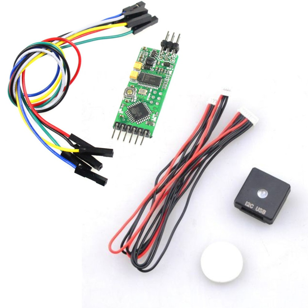 10 in 1 PX4 PIX 2.4.8 32 Bit Flight Controller I2C Shock Absorb OSD PPM M8N GPS 915MHZ Telemetry Kit LED Module for DIY RC Drone - 6