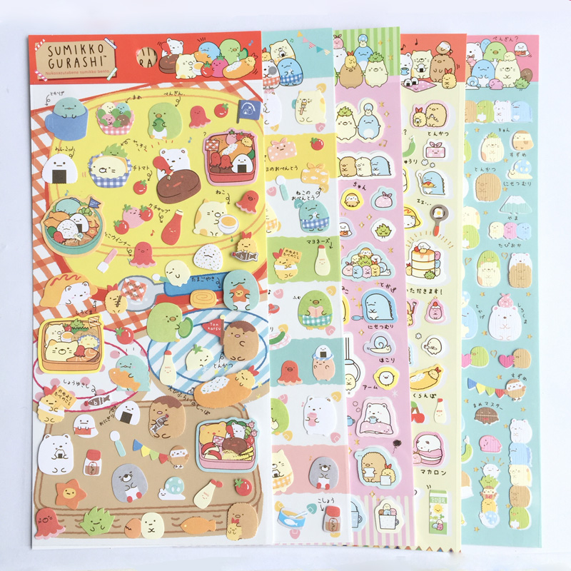 Objective Cartoon Cute Girl Photo Corner Stickers For Diy Baby Photo Album Or Scrapbook Album 8 Style Choose 24pcs/sheet Electronic Components & Supplies