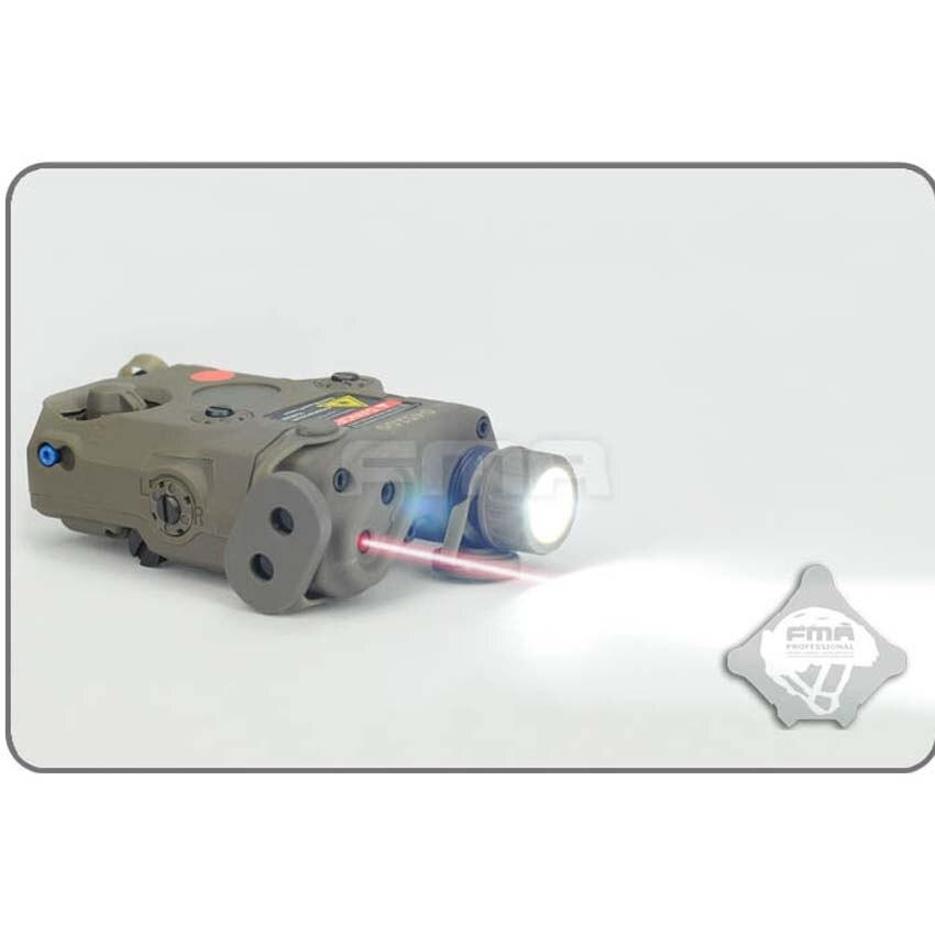 Новый AN-PEQ-15 FMA, обновленная версия, светодиодный белый свет + красный лазер с ИК-линзами, тактический военный шлем, аксессуары, Бесплатная дос...