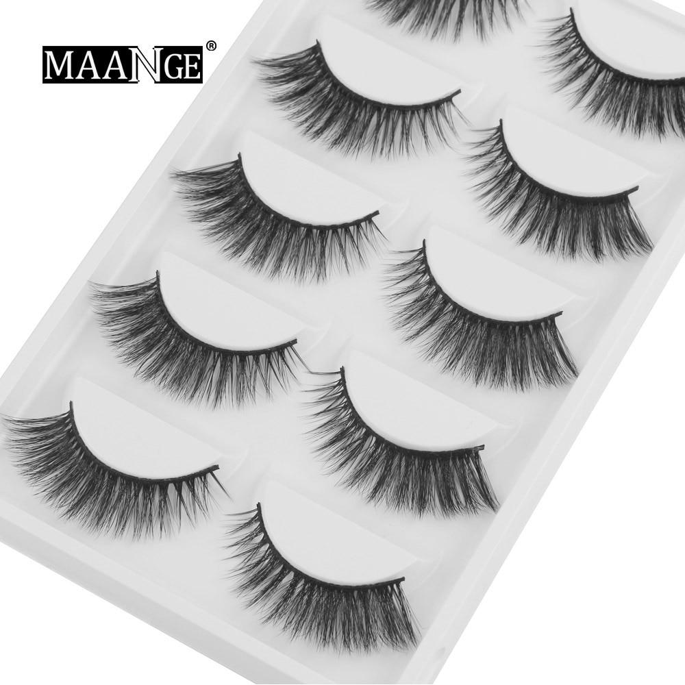 785c4d794c9 New 1/3/5/7 pairs natural false eyelashes long makeup 3D mink ...