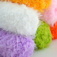 500g/Lot 5 Ball Hand Knitting Mink Yarn China Crochet Baby Yarns Luxury Fur Sweater Scarf Eco Friendly Dyed Mercerie Breiwol