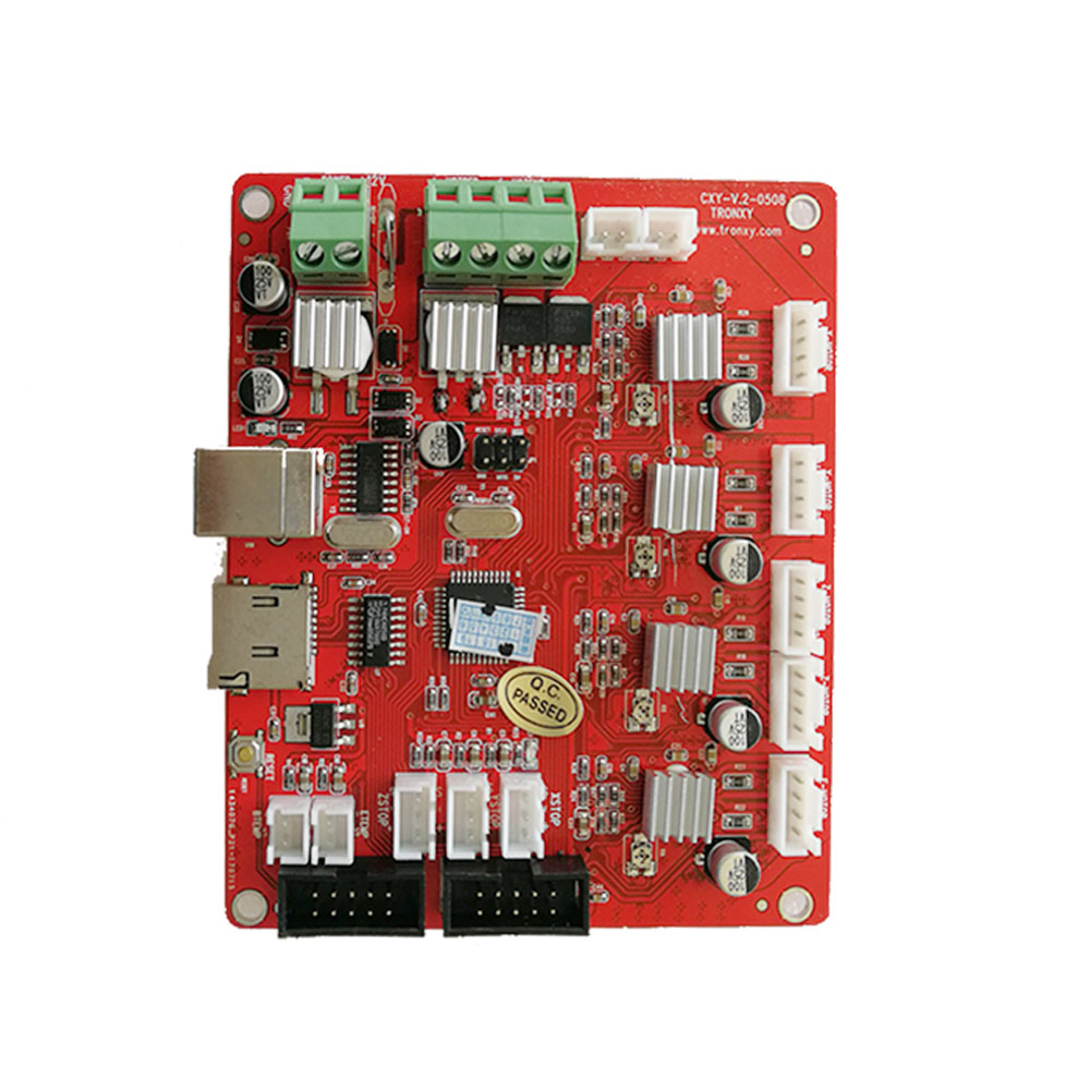 US $31 16 5% OFF|TRONXY X5S 3D Printer mainboard CXY V 2 Control Switch 3D  Printer Controller Board Free shipping-in 3D Printer Parts & Accessories