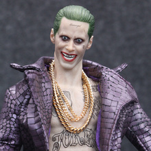 Crazy font b Toys b font 1 6 DC Suicide Squad Joker with Cloth font b