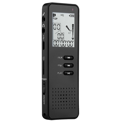 Free DHL or EMS Multifunctional Portable HD Digital 8GB Voice Recorder Dictaphone MP3 Player