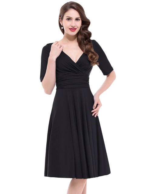 Women Summer Fashion Dress 2016 Sexy Fitted Short Sleeve V-Neck Stretch Maxi Party Work Dress Vestidos Woman Office Dresses