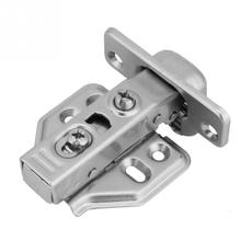 цены на 2Pcs Steel Door Hydraulic Hinges Damper Soft Buffer Close for Cabinet Cupboard door hinge deurscharnier Furniture Hardware Set  в интернет-магазинах