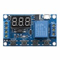6/30V Digital Display Trigger Cycle Time Delay Relay Module Board