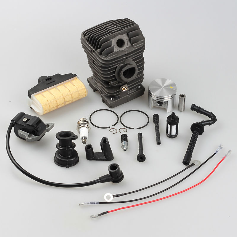 42.5mm Cylinder Piston Assembly for STIHL Chainsaw 023 025 MS230 MS250 with Ignition Coil Air Fuel Filter Spark plug 42 5mm crankshaft cylinder piston kits for stihl 023 025 ms230 ms250 chainsaw air fuel filter oil pump