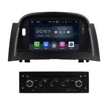 "OCTA Core 7 ""Android 6.0 del coche DVD GPS para Renault Megane II 2004-2009 con 4 GB RAM radios Bluetooth WiFi 32 GB ROM USB espejo-enlace"