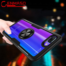 For Huawei Mate 20 X 10 Pro case P30 PRo P20 Lite Magnetic car holder for Honor 8X Max 10 lite V20 View 20 7X Play Armor Case(China)