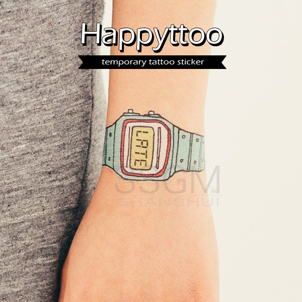 509cb8cdc 2X Tag Yourself DIY Fake Funny Toys Watch Temporary Tattoo Sticker Wrist  Arm Art-in Temporary Tattoos from Beauty & Health on Aliexpress.com |  Alibaba Group