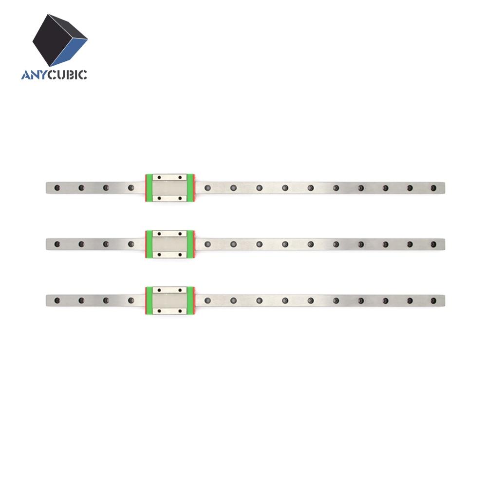 Prix pour 3 pcs Kossel rail slide 12mm L-400mm rail + 3 pcs MGN12H transport pour X Y Z axe