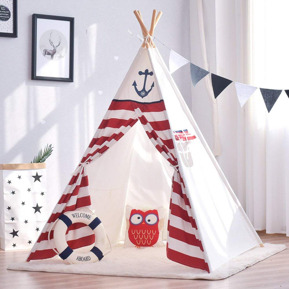 Teepee Baby Teepee Toddler Teepee Kids Play Tent Tipi Kids Tepee Tent yellow chevron pet teepee dog bed house teepee for dogs rabbit teepee
