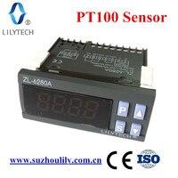 ZL-6280A, 400 градусов, PT100 Температура контроллер, PT100 термостат, цифровой термостат высокого Температура, lilytech