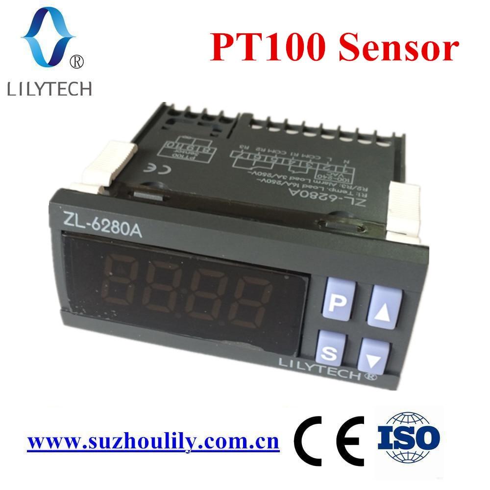 ZL-6280A, 400C, 16A, PT100, Temperature Controller, PT100 Thermostat, digital thermostat high temperature, LilytechZL-6280A, 400C, 16A, PT100, Temperature Controller, PT100 Thermostat, digital thermostat high temperature, Lilytech