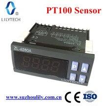 ZL 6280A, 400c, 16a, pt100, controlador de temperatura, termostato pt100, termostato digital de alta temperatura, lilytech