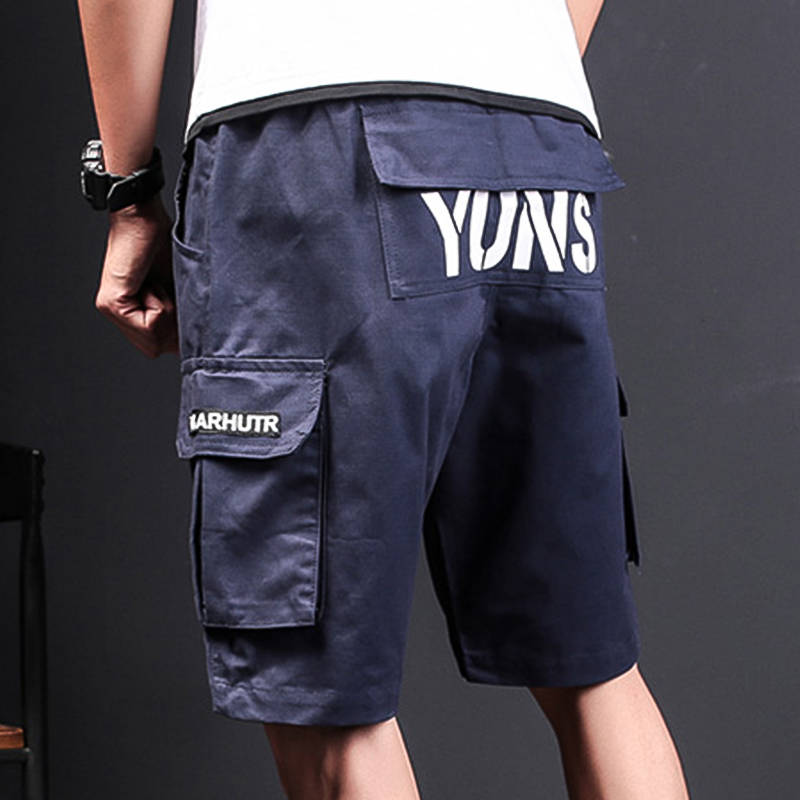 Print Shorts Clothing Military Army-Green Men Summer Mens Fashion Brand Work Letter Hot-Sale