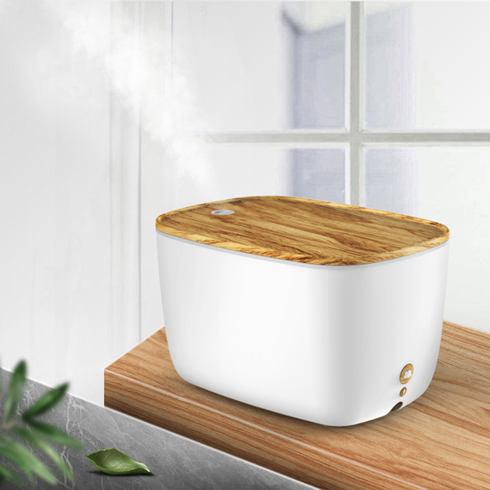 Big Mist Ultrasonic Air Humidifier Aroma Essential Oil Diffuser 7 Colors Changing LED Light Aroma Diffuser For Home