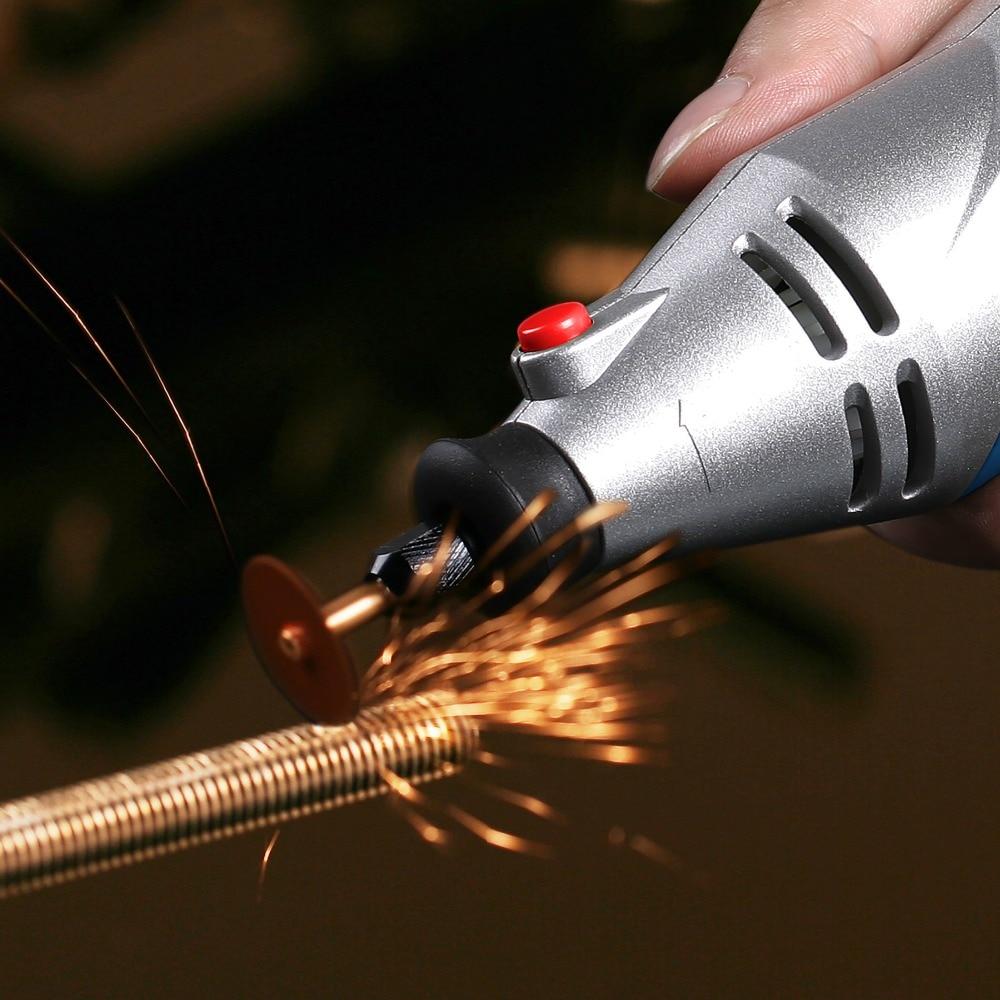 Купить с кэшбэком WORKPRO 152PC Variable Speed Dremel Rotary Tool Electric Drill with Bit Sets Wood working Tool Set