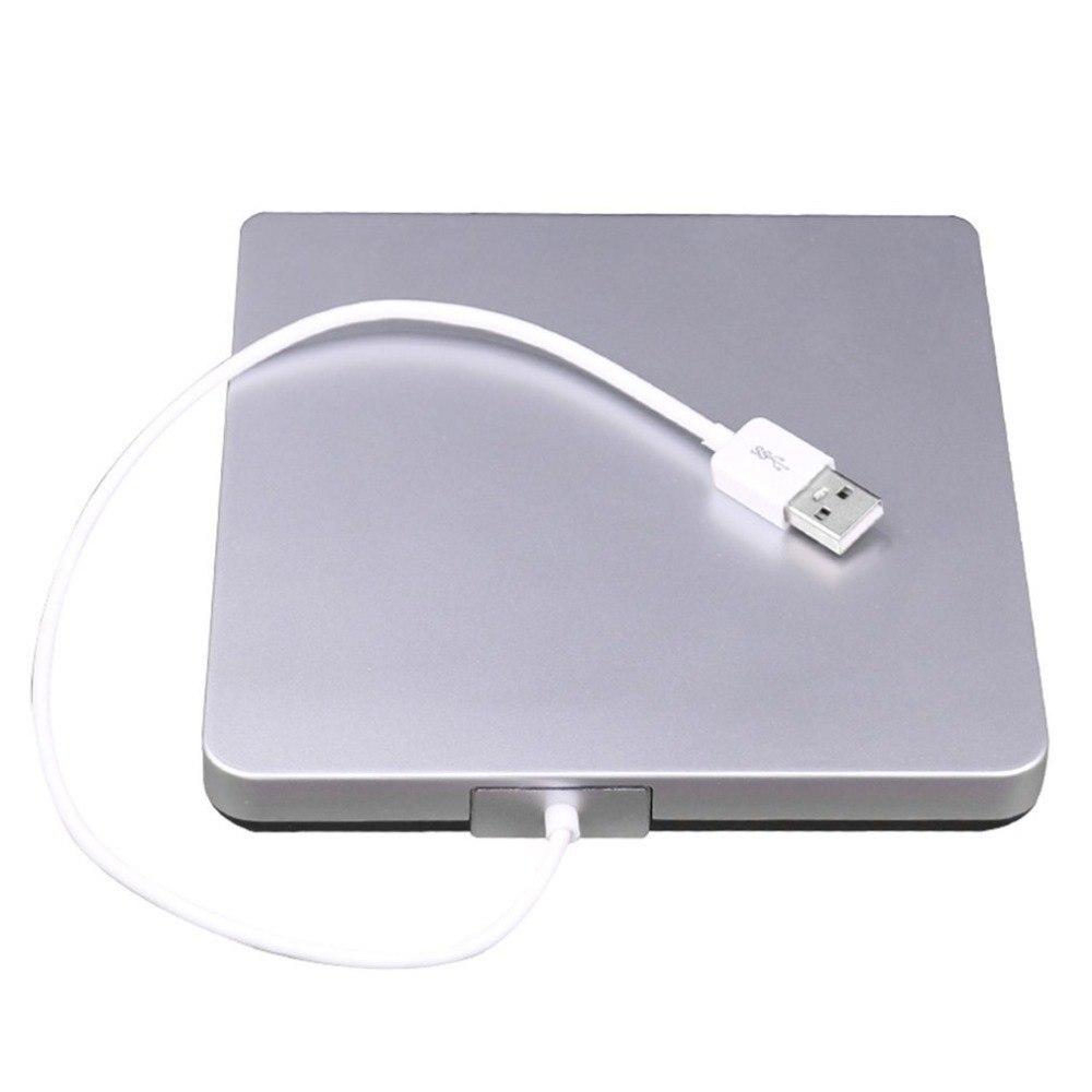 USB CD/DVD-RW Писатель горелки внешний жесткий диск для портативных ПК Mac Macbook Pro USB 2,0 интерфейс Intelligent Burning