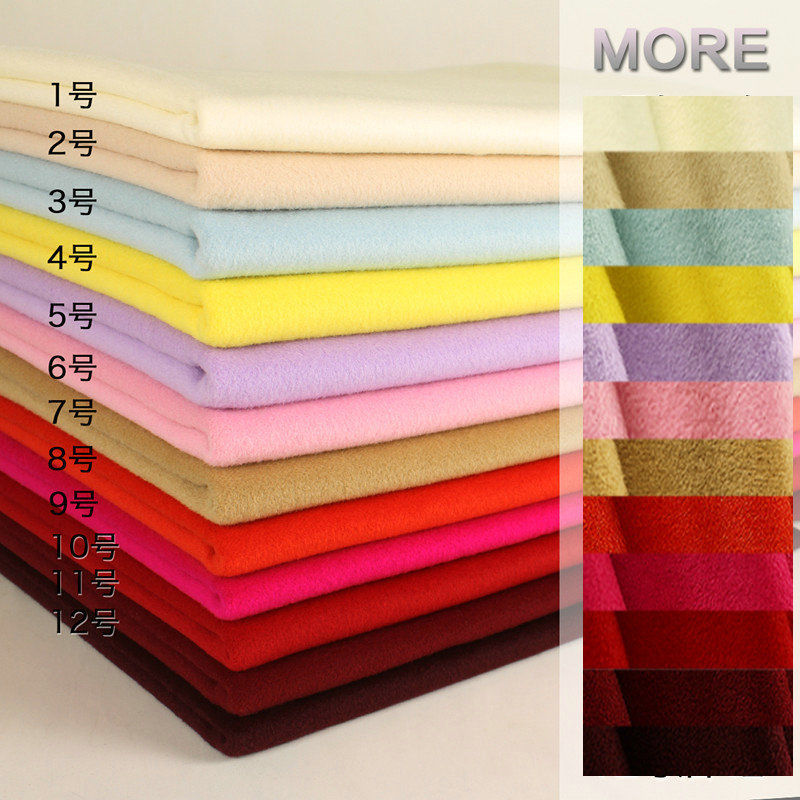 12Color Over Coating Woolen cashmere Cloth fabric For Winter garment coat W1H05