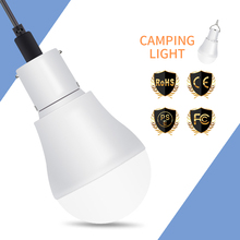 LED Solar Power Light 15W 250LM Portable Led Solar Lamp with Solar Panel 5V-8V LED Bulb for Outdoor Hiking Camping Tent Lighting