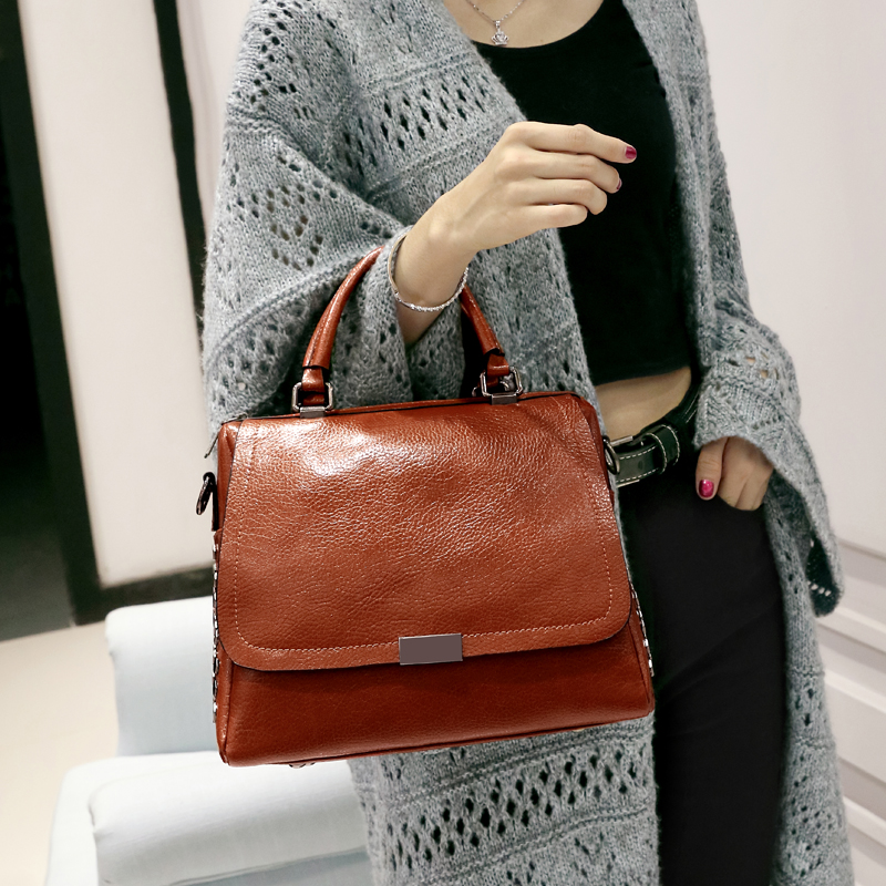 NEW Women Bag Female Shoulder Bag Handbags Women Famous brands Genuine Leather Bag Ladies Crossbody Messenger Bags Crocodile T12 купить