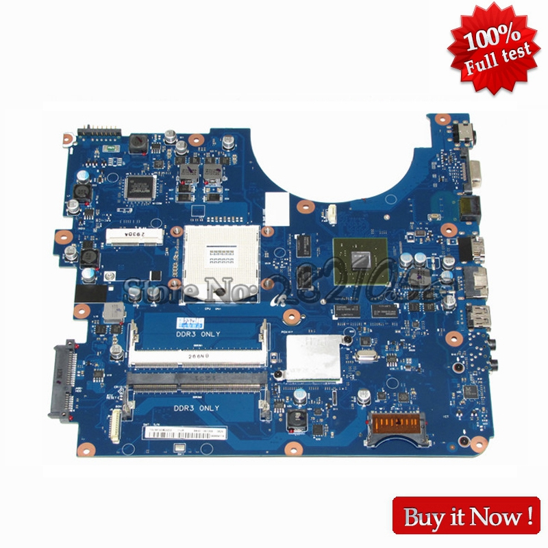 NOKOTION New For Samsung R580 Laptop Motherboard BA92-06133A HM55 DDR3 GT330M 1GB Video Card