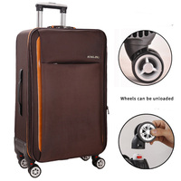 New Fashion Oxford Rolling Luggage Spinner Men Student Trolley Bag Suitcases Travel Bag Business Password box 20/24/26 inch
