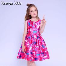 1d0fd3e66d Kseniya niños niñas vestidos para fiesta y boda bebé niña ropa niños  vestidos de noche niñas vestido de graduación 10 12 13 años