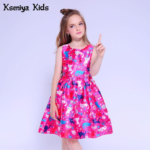 Kseniya Kids Girls Dresses For Party And Wedding Baby Girl Clothes Children Evening Dresses Girls Graduation Dress Age 10 12 13