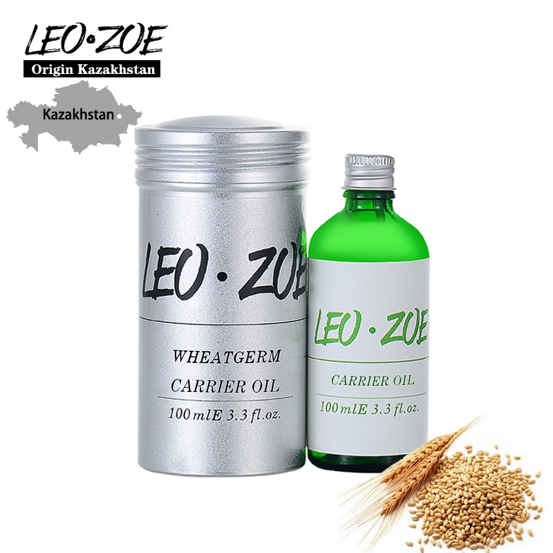 LEOZOE Pure Wheatgerm Oil Certificate Origin Kazakhstan High Quality Carrier Wheatgerm Essential Oil 100ml Etherische Olie недорго, оригинальная цена