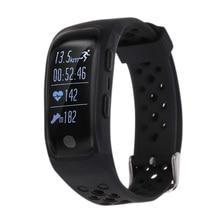 Smart Браслет с IP68 Водонепроницаемый GPS в режиме реального времени сердечного ритма Мониторы браслет Фитнес трекер для iOS Andorid смартфон