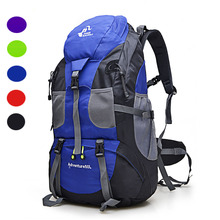 Hiking Backpack 50L Free Knight Mountain Climbing Waterproof Bag Shoulder Outdoor Rucksack Cycling Fitness Basket