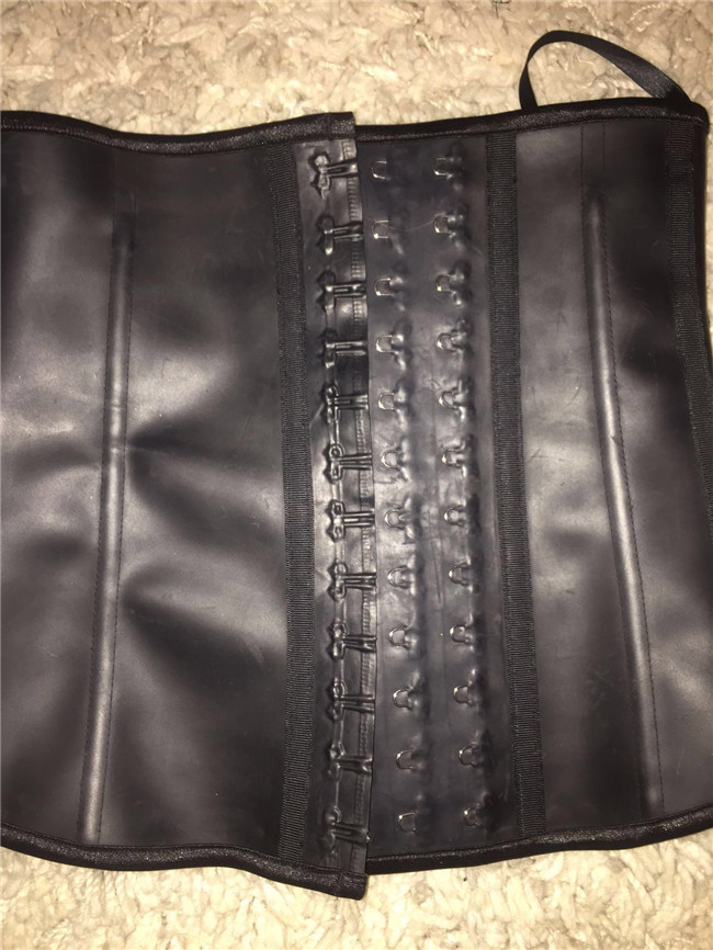 6af8a718806 Ann Chery 2025 Waist Corset Cincher Latex Girdle Black Size S 2XL~latex  corset~body shaper wholesale-in Waist Cinchers from Underwear   Sleepwears  on ...