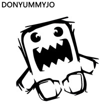 DONYUMMYJO 15CMX13.8CM Domo Kun Japanese Drift Funny Car Sticker Vinyl Decals Motorcycle Car-Styling HJ-054(China)