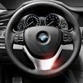 Хром Руль блестки Крышка Отделка Стайлинга Автомобилей для BMW 5 Серии 520 525li 530 Внутренняя Отделка Блестки Авто Аксессуары
