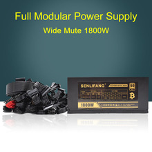 1800W Supports 6 font b Graphics b font font b Card b font High Efficiency with