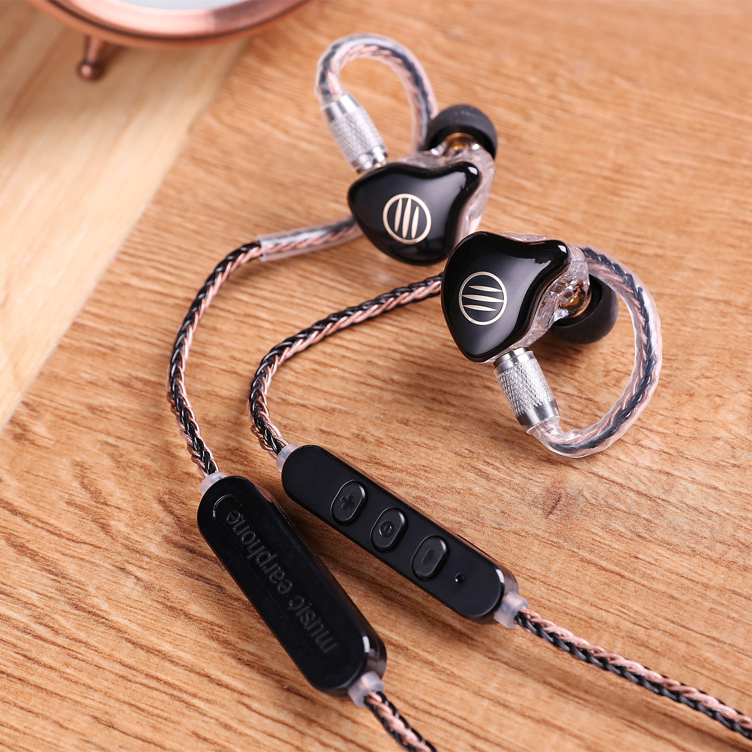 BGVP M1 Headset Bluetooth 4.1 APTX Cable MMCX Line HiFi In ear Wire Single Crystal Copper Plating Upgrade Cord For DM5 DS1 Shure|Earphone Accessories| |  - title=