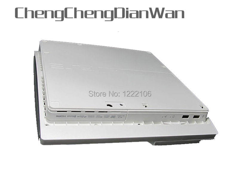 ChengChengDianWan White Full Housing Shell Case For PS3 Slim For PS3 Slim Made In China