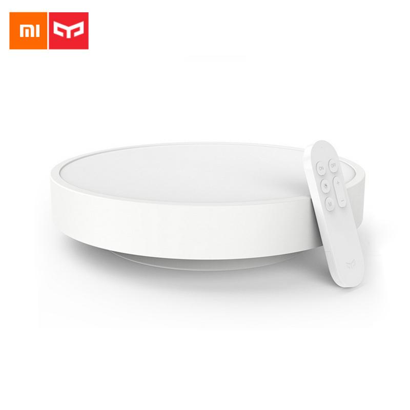 Prix pour 2017 D'origine Xiaomi Yeelight Coloré Lune Forme Led Plafonnier Lampe Smart APP Bluetooth WiFi Double Contrôle IP60 Antipoussière