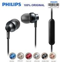 Philips SHE3855 Loptap Przewodowe Słuchawki Wsparcie MP4 Ipad z Regulacja Głośności Mikrofonu do Huawei P10 Dziennik Test