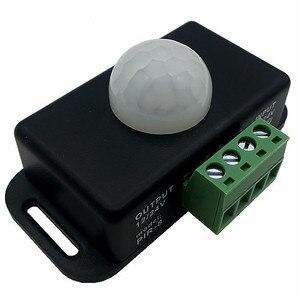 Инфракрасный датчик движения PIR переключатель датчик движения человека детектор переключатель для светодиодной ленты Лента Автоматическа...